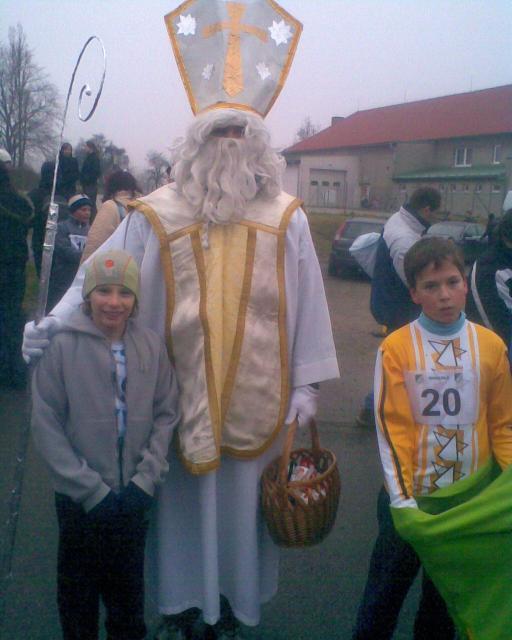 Mikulášský běh v Okrouhlé 5.12.2009 2.kolo BBP