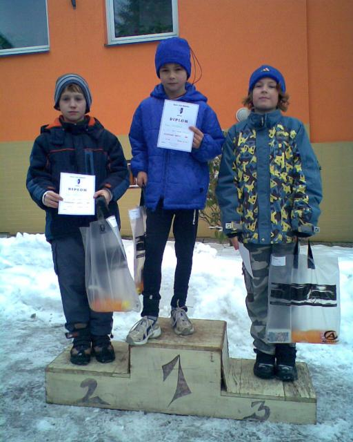 Ráječko 21.2.2009 - Brněnský běžecký pohár
