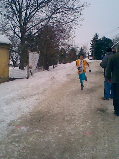 Běh kolem Uhřic 30.1.2010