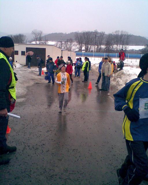 Ráječko 20.2.2010 - Brněnský běžecký pohár