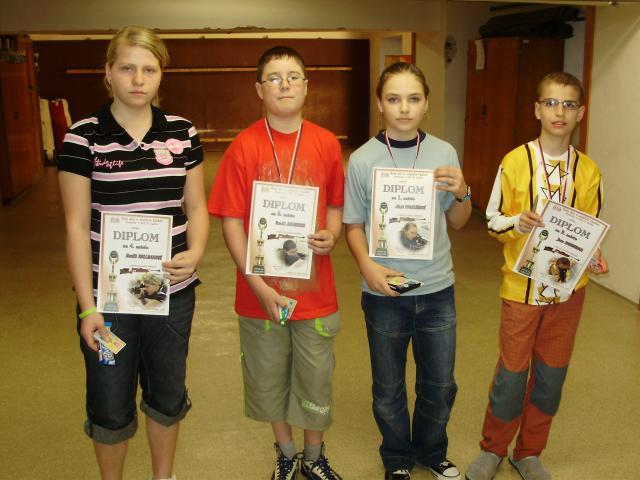 Finále střelecké ligy okresu Vyškov - neděle 19. dubna 2009