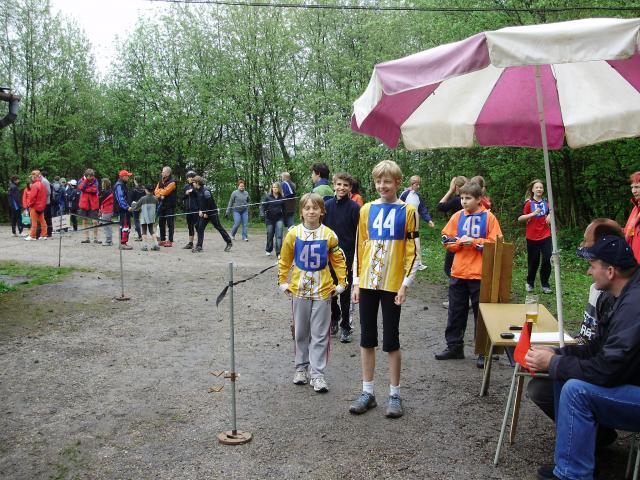 Letní biatlon - Těrlicko 2.5.2010